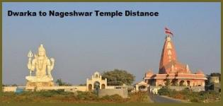 Dwarka to Nageshwar Temple Distance By Road