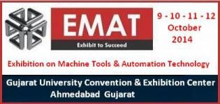 EMAT - Exhibition on Machine Tools and Automation Technology 2014 Ahmedabad