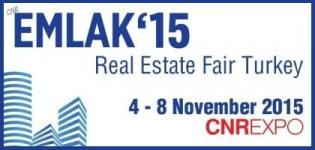 EMLAK Exhibition 2015 - Istanbul Real Estate Fair at Turkey