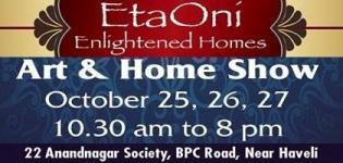 ETAONI - Enlightened Homes Presents Art & Home Show 2015 in Vadodara at Splatter Studio
