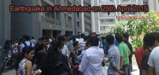 Earthquake in Ahmedabad Gujarat on 25 April 2015 - Today Latest News - Photos - Information