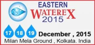 Eastern Waterex Kolkata 2015 - Water Treatment & Water Related Technology Exhibition in India