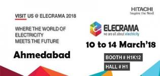 Elecrama 2018 Exhibition Ahmedabad - Event Date Time and Venue Details