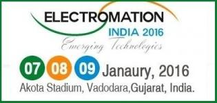 Electromation India 2016 Exhibition at Vadodara Gujarat