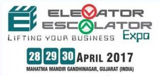 Elevator Escalator Expo 2017 in Gandhinagar Gujarat at  Mahatma Mandir