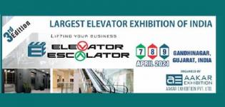 Elevator Escalator Expo 2021 in Gandhinagar Gujarat at Mahatma Mandir