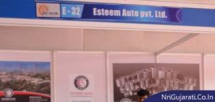 Esteem Auto Pvt. Ltd. Stall at THE BIG SHOW RAJKOT 2014