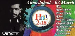 Euphoria the Holi Celebration 2018 Event in Ahmedabad Date and Venue Details