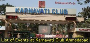 Exhibition at Karnavati Club Ahmedabad - List of Exhibitions in Karnavati Club Ahmedabad