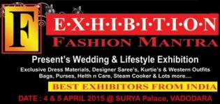 FASHION MANTRA Lifestyle Exhibition in VADODARA at Surya Palace on 4-5 April 2015