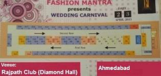 FASHION MANTRA Presents Wedding Carnival in Ahmedabad at Rajpath Club on 2-3 Apr 2015