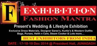 FASHION MANTRA Wedding & Lifestyle Exhibition in JUNAGADH on 17-18-19 Dec 2014
