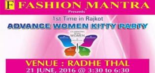 FASHION MANTRA Women Kitty Party 2016 in Rajkot at Radhe Thal on 21st June