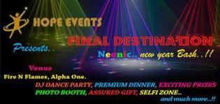 FINAL DESTINATION Neonic New Year Bash 2015 at Alpha One Mall Ahmedabad by Hope Events