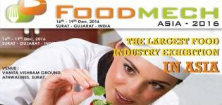 FOOD MECH ASIA 2016 in Surat at Vanita Vishram Ground - Date Venue Details