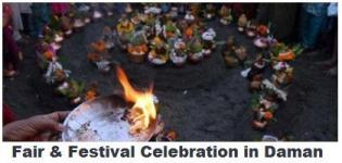 Fair & Festival Celebration in Daman - Daman City Nariyal Purnima Festival