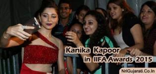 Famous Bollywood Lady Singer Kanika Kapoor in IIFA Awards 2015 Photos Latest Images