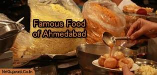 Famous Food Items of Ahmedabad - Special Desi Food Name with Availability in Ahmedabad City
