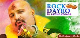Famous Gujarati Singer ARVIND VEGDA Live Rock Dayro at Chaalo Gujarat 2015 New Jersey USA