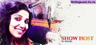 Famous RED FM Lady Anchor RJ DEVAKI to Host Show Chaalo Gujarat 2015 at New Jersey USA