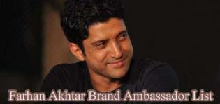 Farhan Akhtar Brand Ambassador List - Endorsement Photo Gallery