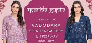 Farida Gupta Exclusive Collection of Clothes Exhibition in Vadodara Details