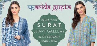 Farida Gupta Surat Exhibition in Surat Exclusive Collection of Clothes Details
