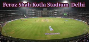 Feroz Shah Kotla Stadium VIVO IPL 2017 Match Schedule - Delhi Daredevils Home Ground