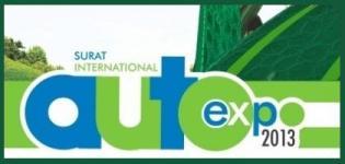 Surat International Auto Expo 2013 in Gujarat India