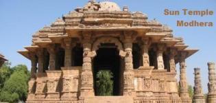 Sun Temple Modhera Gujarat India Information - Photos