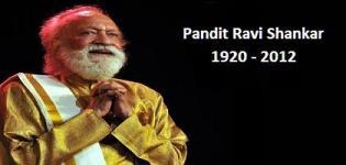 Pandit Ravi Shankar Passes Away 1920 - 2012
