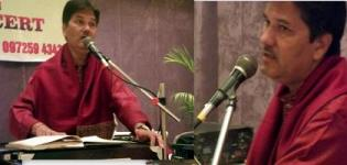 Vijay Pathak - Ghazal Singer from Vadodara Gujarat India