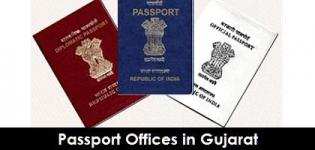 Gujarat Passport Offices - Passport Office in Ahmedabad Vadodara Rajkot Surat