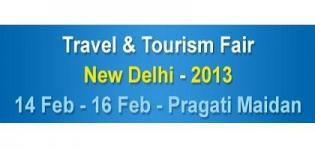 TTF Travel and Tourism Fair 2013 in New Delhi India