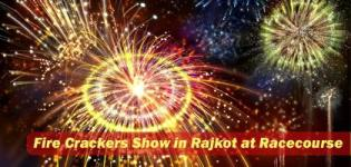 Fireworks Show in Rajkot Gujarat - Fire Crackers Show in Rajkot at Racecourse Cricket Ground