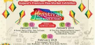 Fleastival 2018 in Gujarat - The Flea Market at Bharuch - Gandhidham - Rajkot