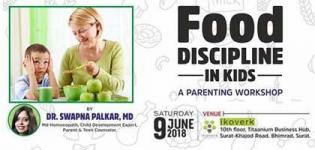 Food Discipline in Kids Arrange for Parents to Bring Discipline in Children in Surat