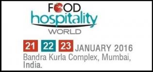 Food Hospitality World (FHW) in Mumbai 2016 - International Food and Hospitality Exhibition