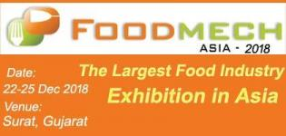 Foodmech Asia 2018 in Surat at Vanita Vishram Ground