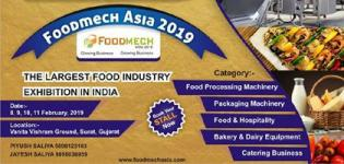 Foodmech Asia 2019 in Surat at Vanita Vishram Ground