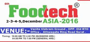 Foodtech Asia 2016 in Gujarat at Surat Date and Venue - Details