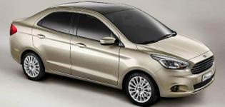 Ford Figo Aspire Car Launched in India - Price - Features - Photos