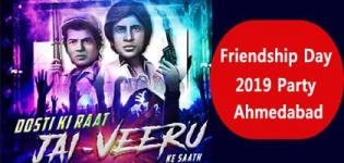 Friendship Day 2019 Party in Ahmedabad at The Green Pearl on 4th August