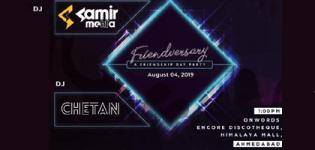 Friendversary - A Friendship Day Party 2019 in Ahmedabad at Encore Discotheque