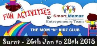 Fun Activities by Smart Mamaz 2018 in Surat - Event Date and Venue Details