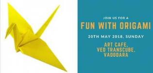 Fun with Origami, an Art Workshop to Explore the Creativity of Children in Vadodara