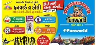 Funworld Ki Holi 2019 - Unique and Colorful Holi Festival Date and Venue Details