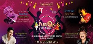 Fusion Raas Garba 2016 in Gandhidham at Nexus Club and Convention Centre