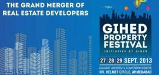 GIHED Property Festival 2014 - Arvind Infrastructure GIHED Ahmedabad Property Exhibition