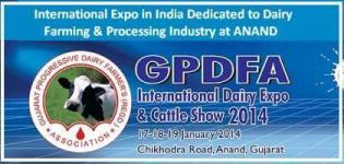 GPDFA International Dairy Expo 2014 - Cattle Show in Anand Gujarat India